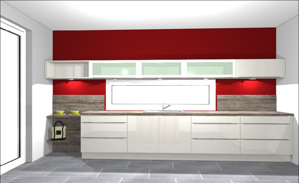 Küche Ansicht  Mitte 2