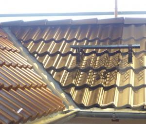 Dachdeckung mit Titan-Zinkblech