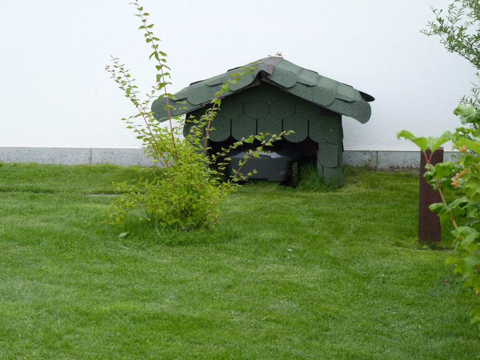 Eine Hütte ...